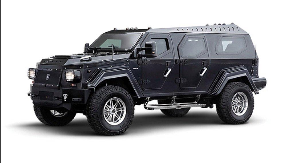 Armoured SUV