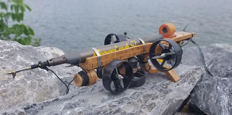 ROV Speargun Underwater Drone